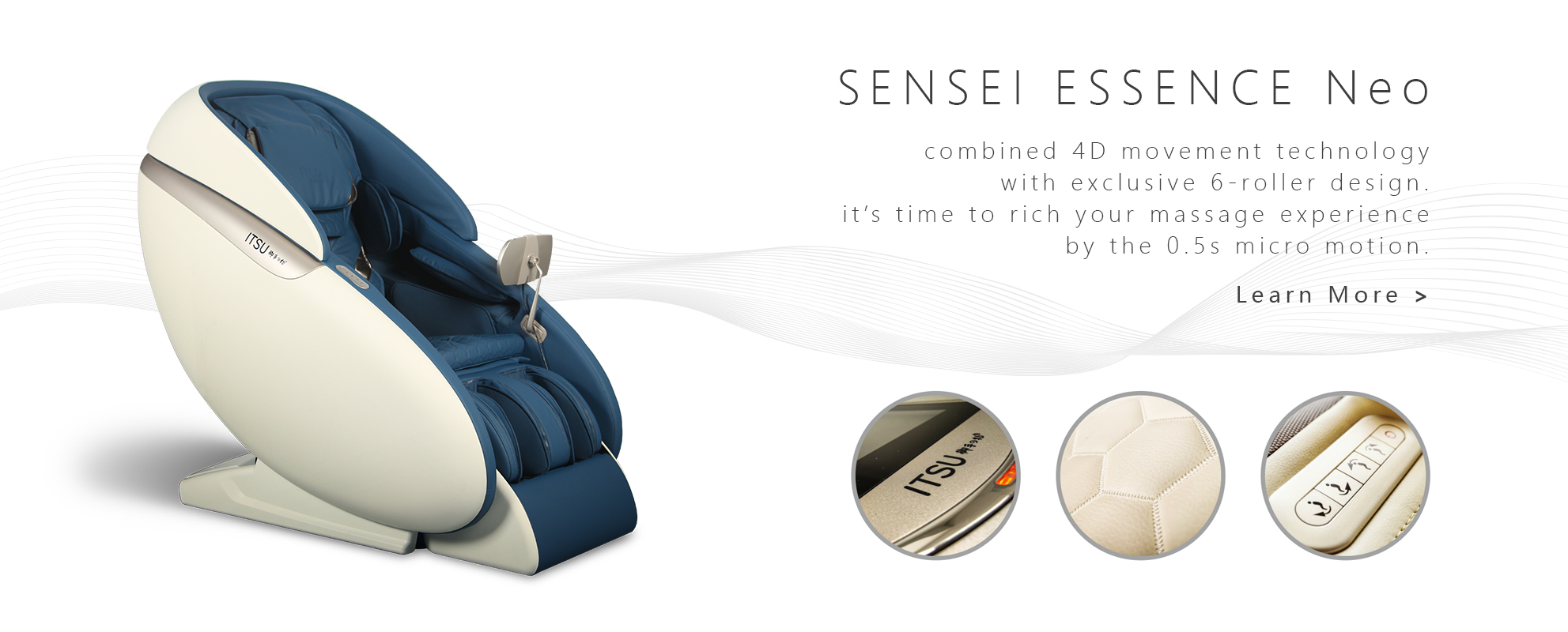 ITSU SENSEI ESSENCE Neo Massage Chair Banner
